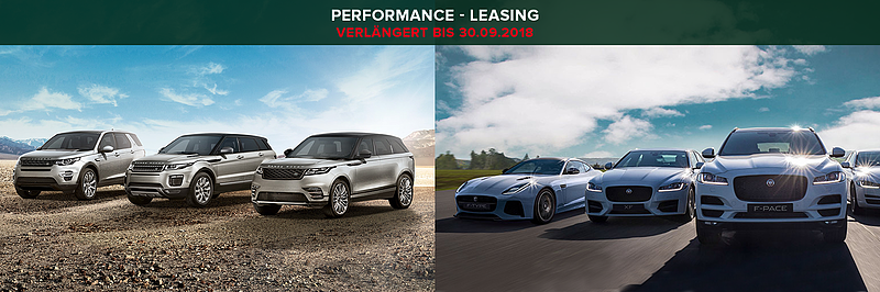 Jaguar Land Rover Performance - Leasing