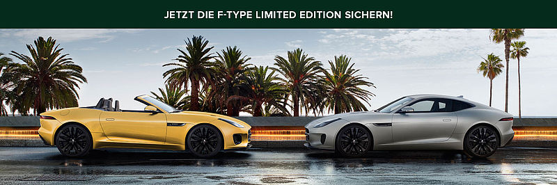 Limited Edition Jaguar F-Type